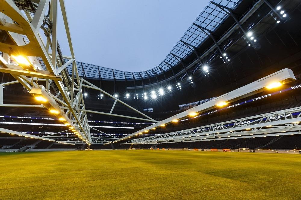 tottenham new stadium technology